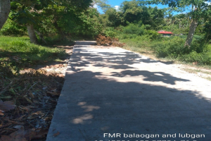 Provision of Concrete Paved FMR, Road Structures and other Ancillary Structures for Barangays